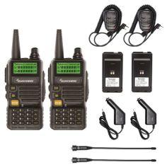 Акция на Набор Раций Quansheng UV-R50 для оперативной радиосвязи Внедорожник - 2 черный от Allo UA