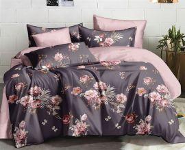 Акция на Комплект постельного белья MirSon Сатин 22-1260 Lilac-breasted Семейный (2 x 160x220) (2200002951807) от Rozetka