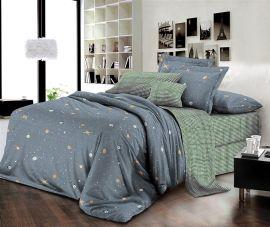 Акция на Комплект постельного белья MirSon Бязь 17-0429 Space Детский (2200002949309) от Rozetka
