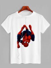 Акция на Футболка Likey Spider Man M150-0607 3XL Белая (2000000378688) от Rozetka