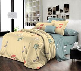 Акция на Комплект постельного белья MirSon Бязь Premium 17-0421 Music Семейный (2 x 160x220) (2200002949613) от Rozetka