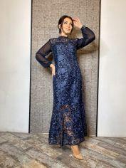 Акция на Платье DNKA ат41414 50-52 Синее (2000000565521_ELF) от Rozetka