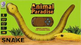 Акция на Игрушка на радиоуправлении Maya Toys Змея желтая (8904) (4812501160048) от Rozetka