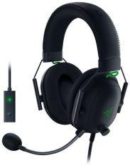 Акция на Игровая гарнитура Razer BlackShark V2 - Wired + USB Mic Enhancer (RZ04-03230100-R3M1) от MOYO