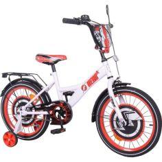 Акция на Детский велосипед TILLY Hero 18 ( T-218212/1) белый с красным от Allo UA