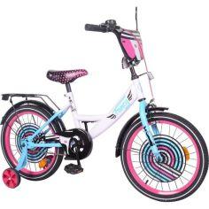 Акция на Детский велосипед TILLY Fancy 18 (T-218214) белый от Allo UA
