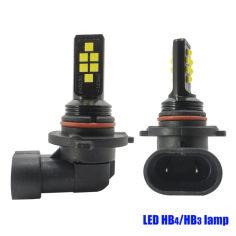 Акция на LED лампа НB3. Светодиодная лампа 12 диодов CREE, SMD 3030. \ 12-24V от Allo UA