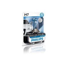 Акция на Авто лампа H7 PHILIPS 55W 12V PX26d WhiteVision +60% (4300K) Эффект ксенона! от Allo UA