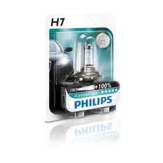 Акция на Авто лампа H7 PHILIPS 55W 12V PX26d X-treme Vision+130% от Allo UA