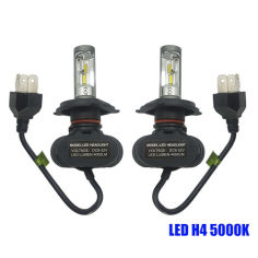 Акция на Светодиодные лампы Н-4. LED лампы H4 6000K 4000Lm. 12-24V \ Seoul Y19 CSP Корея от Allo UA