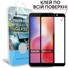Акция на MakeFuture Full Cover Full Glue Black для Xiaomi Redmi 6 от Allo UA