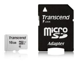 Акция на TRANSCEND microSDHC 300S 16GB UHS-I U1 + ad (TS16GUSD300S-A) от Repka