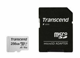 Акция на TRANSCEND microSDXC 256GB Class 10 UHS-I R95/W45MB/s + SD-адаптер (TS256GUSD300S-A) от Repka