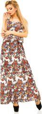 Акция на Платье ELFBERG 225 42 Белое с разноцветными цветами (2000000246277) от Rozetka