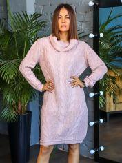 Акция на Платье DNKA р7039 44-50 Пудровое (2000000568119_ELF) от Rozetka