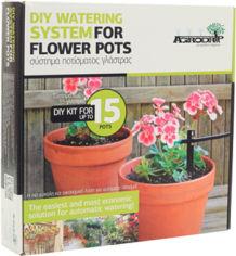 Акция на Комплект системы орошения Agrodrip для цветочных горшков на 15 капельниц (5206801004796) от Rozetka
