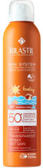 Акция на Спрей солнцезащитный прозрачный для детей с SPF 50 Rilastil Sun System 200 мл (8050444850268) от Rozetka