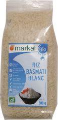 Акция на Рис Markal длиннозерный басмати белый органический 500 г (3329485431206) от Rozetka