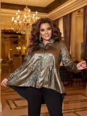 Акция на Костюм New Fashion 158 54-56 Черный с золотистым (2000000553962_ELF) от Rozetka