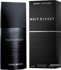Акция на Туалетная вода для мужчин Issey Miyake Nuit d'Issey 125 мл (3423474874750) от Rozetka