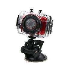 Акция на Спортивный видеорегистратор Lux S 020 F5 HD TOUCH SCREEN waterproof case от Allo UA