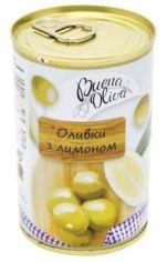 Акция на Оливки Buena Oliva зеленые с лимоном, ж/б 314 мл (PLK8427598100653) от Stylus