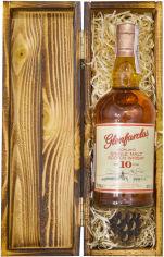 Акция на Виски Glenfarclas 10уо 0.7 л 40% в деревянной коробке (111111) от Rozetka