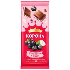 Акция на Шоколад молочный Корона Смородина-Крем, 85 г от Auchan