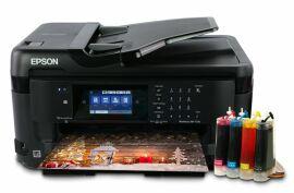Акция на МФУ Epson WorkForce WF-7710DWF с СНПЧ от Lucky Print UA