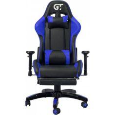 Акция на Кресло GT Racer X-2525-F Black/Blue от Allo UA