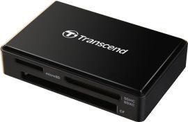 Акция на Кардридер Transcend TS-RDF8K2 USB3.1 Gen1 All-in-1 Multi Card Reader SD/microSD/CF от Rozetka