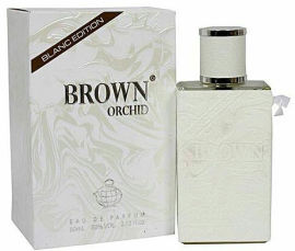 Акция на Парфюмированная вода унисекс Fragrance World Blanc Edition Brown Orchid Белый аналог Creed Silver Mountain 80 мл (ROZ6400105106) от Rozetka
