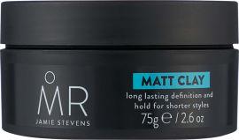Акция на Матовая глина для моделирования волос MR. Jamie Stevens Matt Clay 75 г (5017694103691) от Rozetka