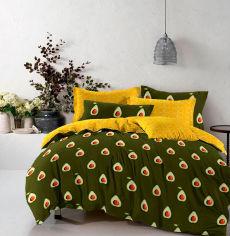 Акция на Комплект постельного белья MirSon Бязь 17-0435 Avocado 160х220х2 (2200002994842) от Rozetka