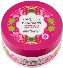 Акция на Масло для тела Yardley Flowerazzi Magnolia & Pink Orchid Moisturising Body Butter 200 мл (5056179300644) от Rozetka