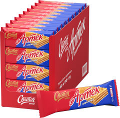 Акция на Упаковка вафель Світоч Артек Классический 80 г х 40 шт (4823000921719) от Rozetka