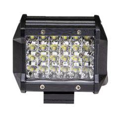 Акция на Фара LED прямоугольная 72W (24 диода) 98 мм от Allo UA