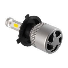 Акция на S2 Лампа светодиодная цоколь H7 (к-кт 2 шт) 12/24V, 36W, 4000Lm + вентилятор (авиац. алюмин.) от Allo UA