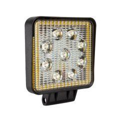 Акция на Фара LED квадратная 27W (+ LED кольцо) от Allo UA
