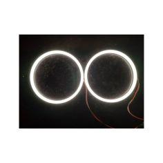 Акция на Светодиодные LED кольца ДХО ангельские глазки COB Ø 120мм , ваз , лада , ланос , bmw БЕЛЫЕ от Allo UA