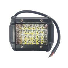 Акция на Четырехрядная мощная LED фара - прожектор на 24 диода. H - 72W / S. Пр-во Корея от Allo UA