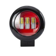 Акция на Фара LED круглая 30W (3 диода) red от Allo UA