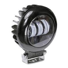 Акция на Фара LED круглая 30W (3 диода) black от Allo UA