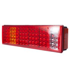 Акция на Фонарь LED задний универсальный 520 х 130 х 85 24 В от Allo UA