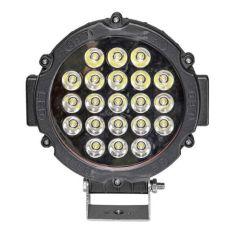 Акция на Фара LED круглая 63W (21 лампа) black от Allo UA