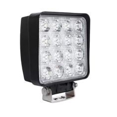 Акция на LED фара квадратная 48W, 16 ламп, узкий луч 10/30V 6000K от Allo UA