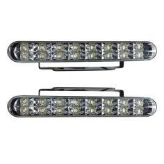 Акция на Автомобильные ДХО, 16 диодов, универсальные фары, ближний свет , LED дневные ходовые огни КОМПЛЕКТ!! от Allo UA