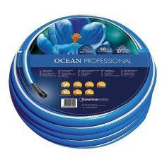 Акция на Шланг садовый Tecnotubi Ocean для полива диаметр 5/8 дюйма, длина 50 м (OC 5/8 50) от Allo UA