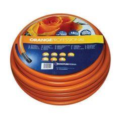 Акция на Шланг садовый Tecnotubi Orange Professional для полива диаметр 5/8 дюйма, длина 50 м (OR 5/8 50) от Allo UA