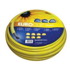 Акция на Шланг садовый Tecnotubi Euro Guip Yellow для полива диаметр 1/2 дюйма, длина 50 м (EGY 1/2 50) от Allo UA